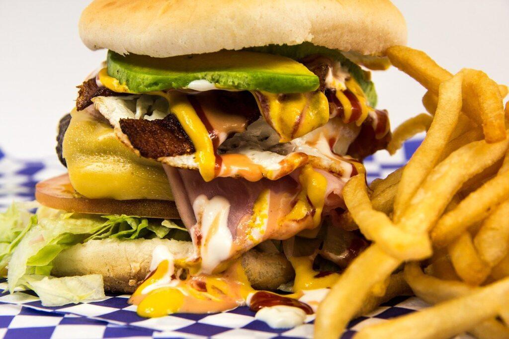 hamburger, foot, burger